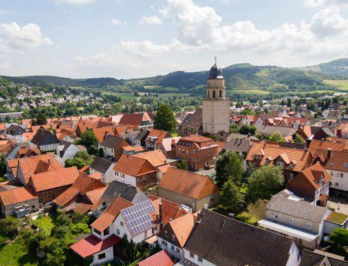 Stadt Zierenberg – Luftfotos, Fotografie